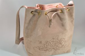 Piparella Bucket Bag Pink -Bottom