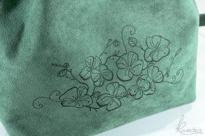 Piparella Bucket Bag Green -Detail