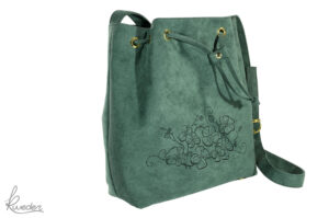 Piparella Bucket Bag Green -Side