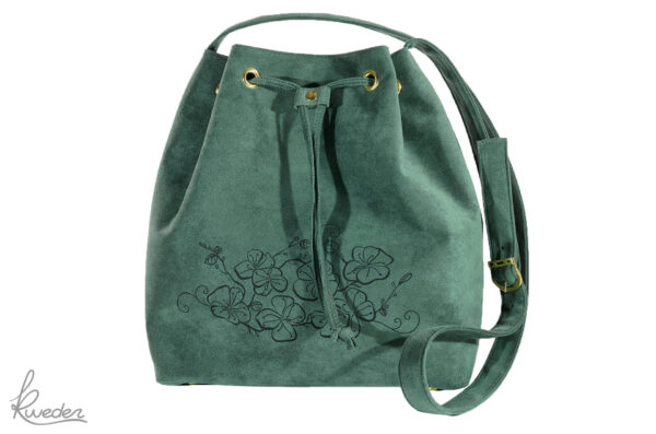 Piparella Bucket Bag Green -Front