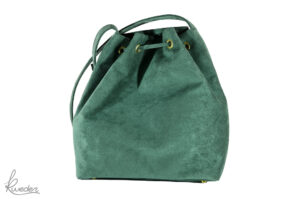 Piparella Bucket Bag Green -Back